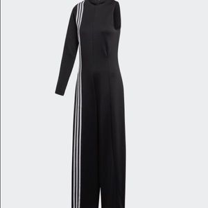 New with tags. ADIDAS TLRD black jumpsuit
